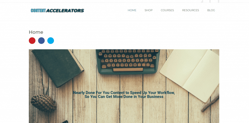 Content Accelerators Printable PLR Planners Journals and PLR Digital Papers