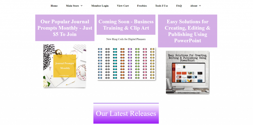 Createful Journals PLR Templates Journal Prompts and Planners