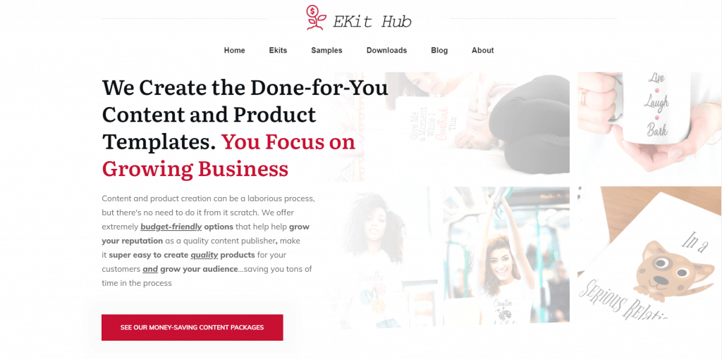 Entrepreneurs Kit Hub Printable PLR Kits