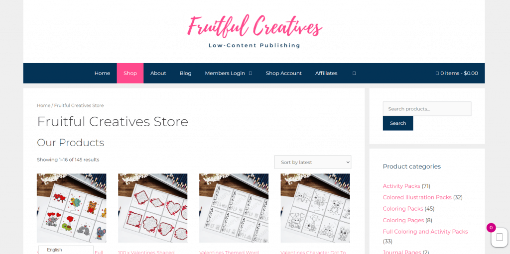 Fruitful Creatives PLR Illustrations and Digital Printable Products