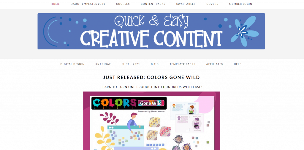 Quick and Easy Creative Content PLR