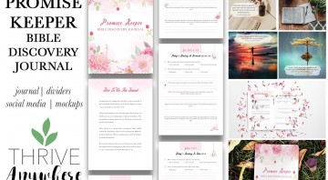 Promise Keeper Bible Discover PLR Journal