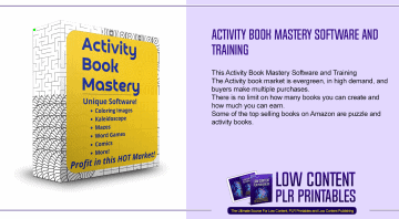 Activity Book Mastery Software and Training