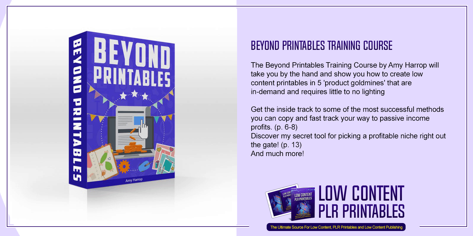 Beyond Printables Training Course