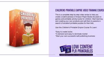 Childrens Printable Empire Video Training Course