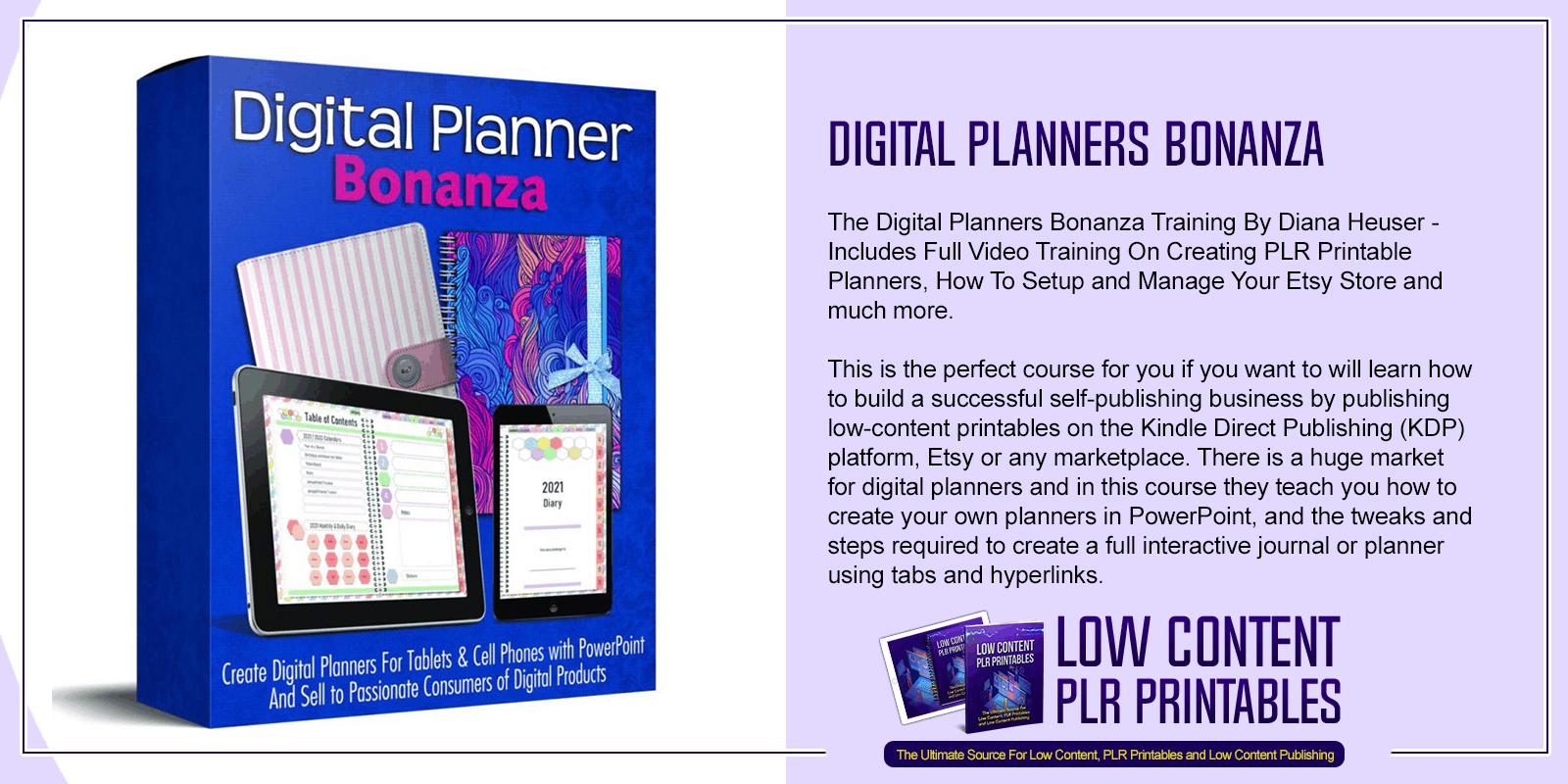 Digital Planners Bonanza