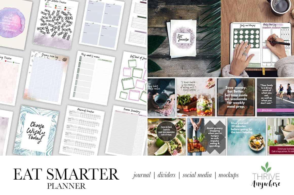 Eat Smarter PLR Planner Journal