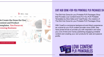 Ekit Hub Done for you Printable PLR Packages Shop