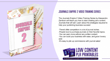 Journals Empire 2 Video Training Series