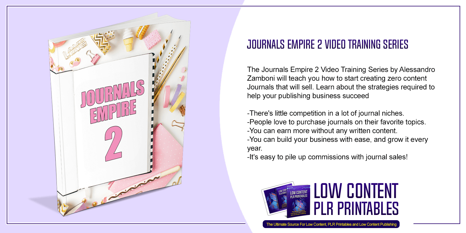Journals Empire 2 Video Training Series