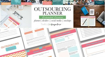 Outsourcing PLR Planner and Workbook