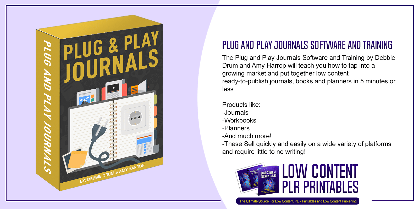 Plug and Play Journals Software and Training