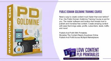 Public Domain Goldmine Training Course