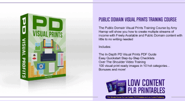 Public Domain Visual Prints Training Course
