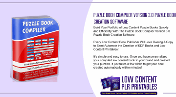 Puzzle Book Compiler Version 3.0 Puzzle Book Creation Software
