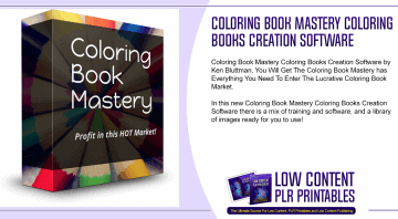 Coloring Book Mastery Coloring Books Creation Software