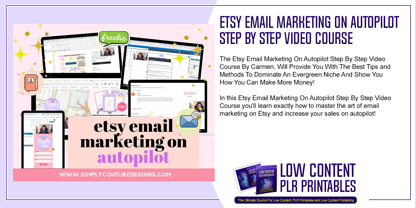 Etsy Email Marketing On Autopilot Step By Step Video Course