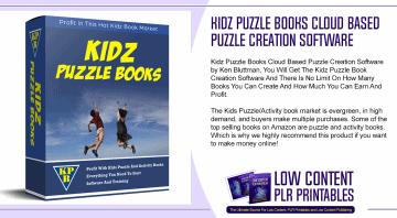 Kidz Puzzle Books Cloud Based Puzzle Creation Software