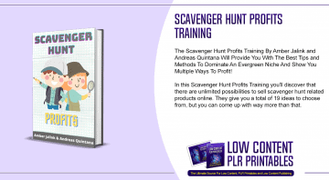 Scavenger Hunt Profits Training