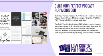 Build Your Perfect Podcast PLR Workbook 1