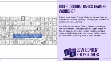 Bullet Journal Basics Training Workshop