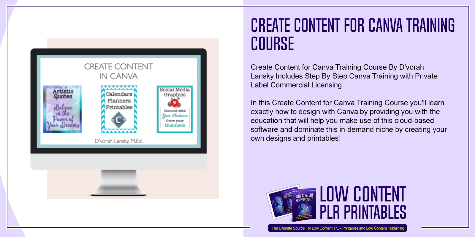 Create Content for Canva Training Course
