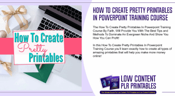 How To Create Pretty Printables In Powerpoint Training Course