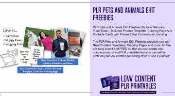 PLR Pets and Animals EKit Freebies