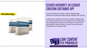 eCover Authority 3D eCover Creation Software App