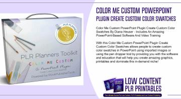 Color Me Custom PowerPoint Plugin Create Custom Color Swatches