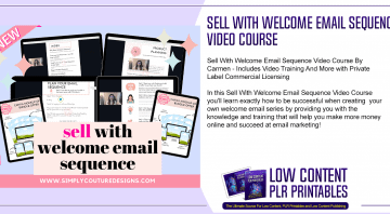 Sell With Welcome Email Sequence Video Course