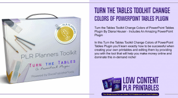 Turn the Tables Toolkit Change Colors of PowerPoint Tables Plugin