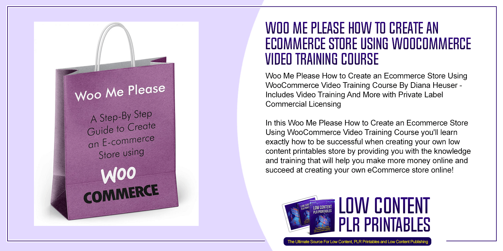 Woo Me Please How to Create an Ecommerce Store Using WooCommerce Video Training Course