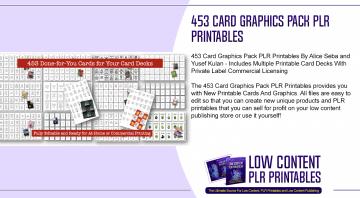 453 Card Graphics Pack PLR Printables