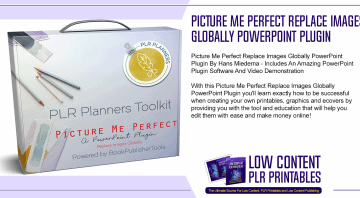 Picture Me Perfect Replace Images Globally PowerPoint Plugin