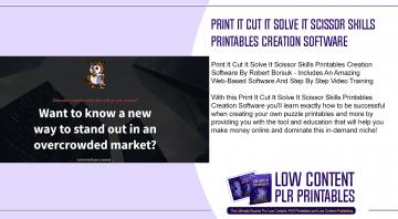 Print It Cut It Solve It Scissor Skills Printables Creation Software