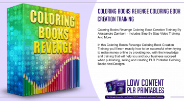 Coloring Books Revenge Coloring Book Creation Training